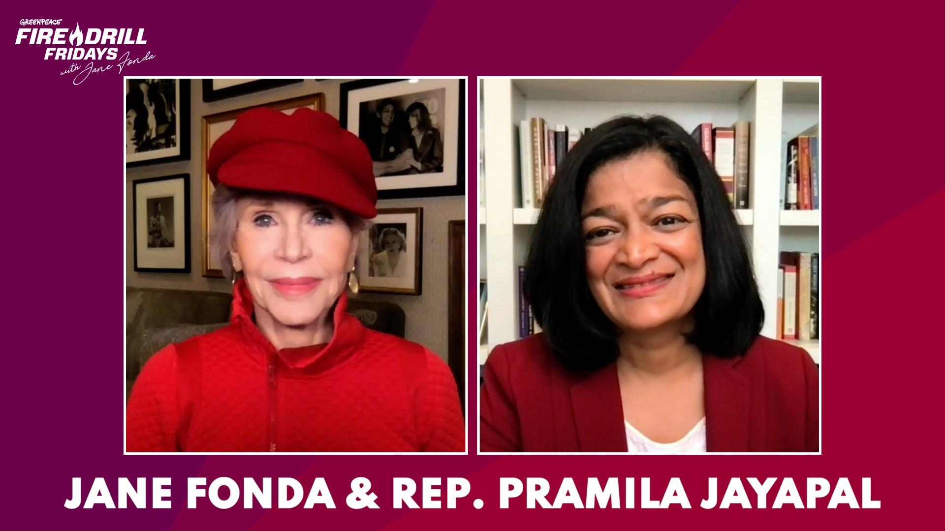Watch Congresswoman Pramila Jayapal: How to Take on the Fossil Fuel Industry